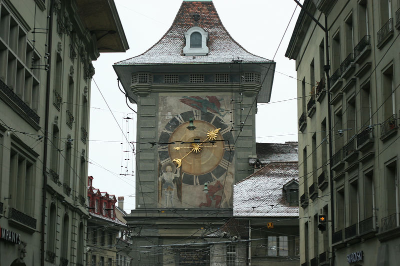 Clock tower, Bern Switzerland