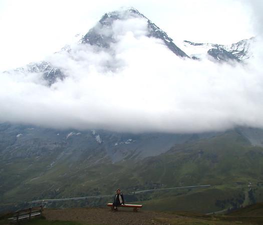 Eiger - a view from Kleine Scheidegg