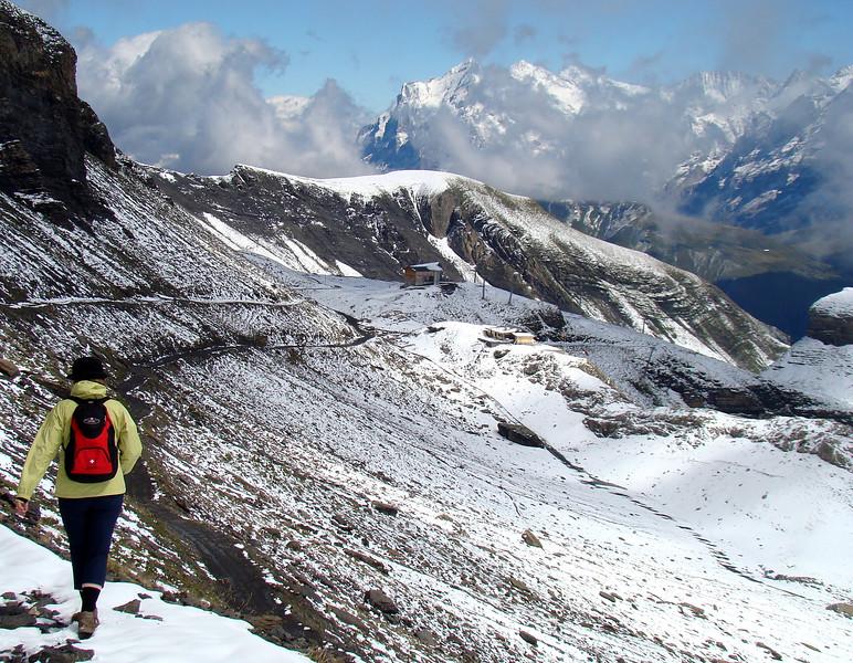 Trail from Birg to Murren