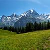 Scenic views of Allmendhubel Switzerland