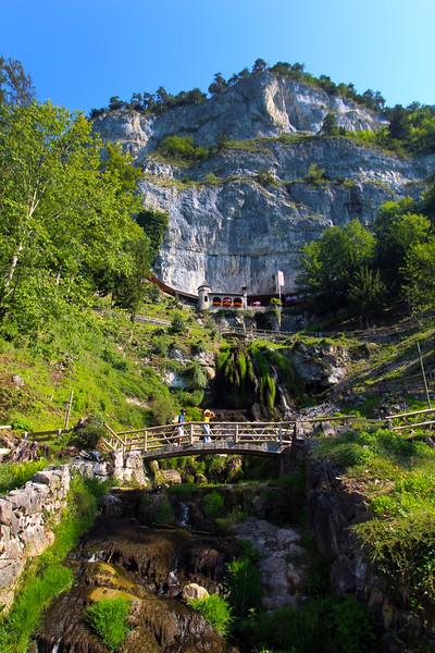 St. Beatus Caves, Thun Lake, Switzerland