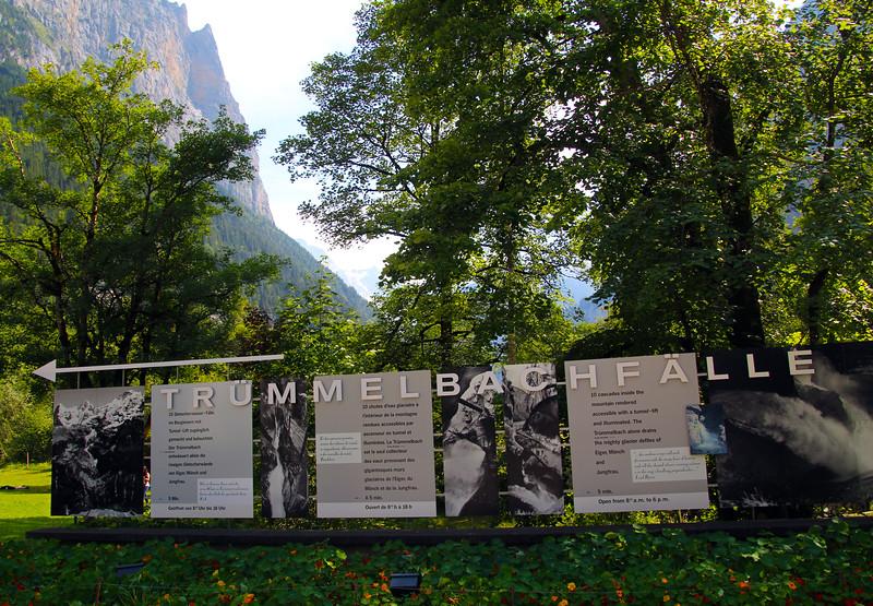 Truemmelbach Falls, Lauterbrunnen Switzerland