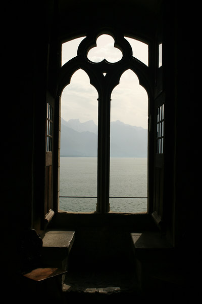 Lake view from Chillon