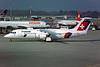 HB-IXW British Aerospace RJ100 c/n E3272 Geneva/LSGG/GVA 09-03-96 (35mm slide)