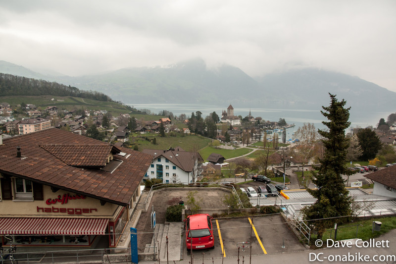 Lake Thun from Spiez
