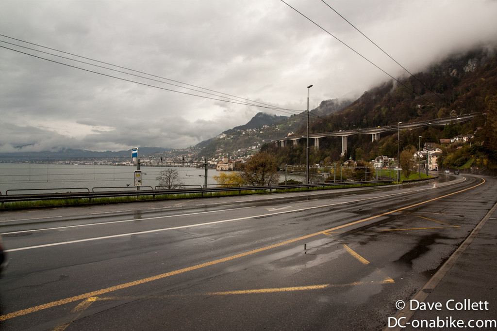 Cycling around Lake Geneva to Montreux