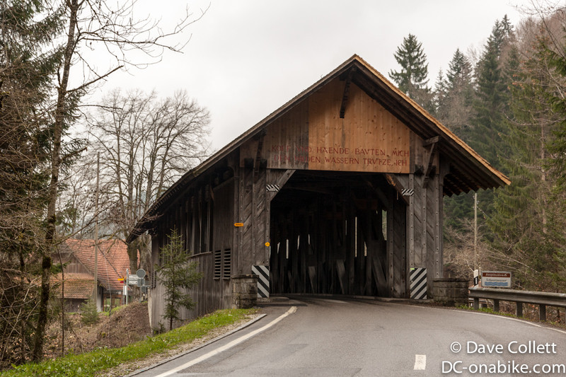 Covered bridge!