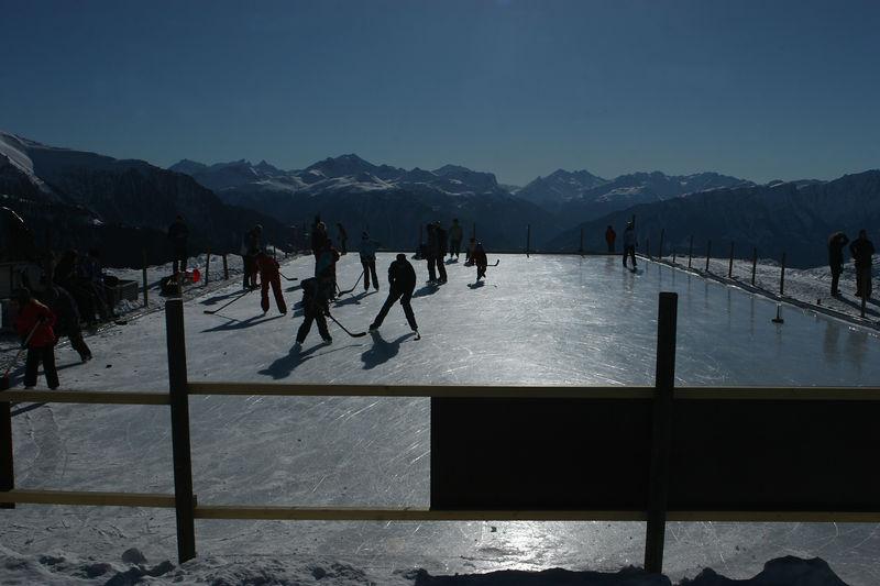 Alpine rink