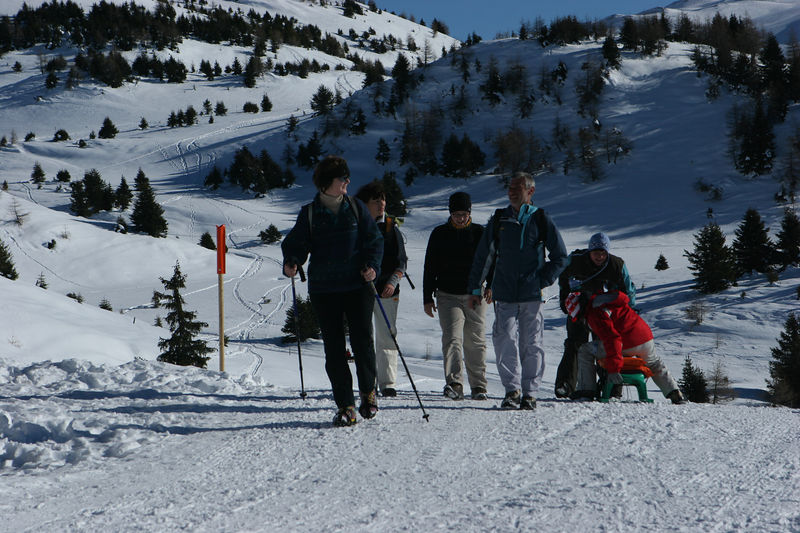 Andrea, Sabine, Miriam, Marcel
