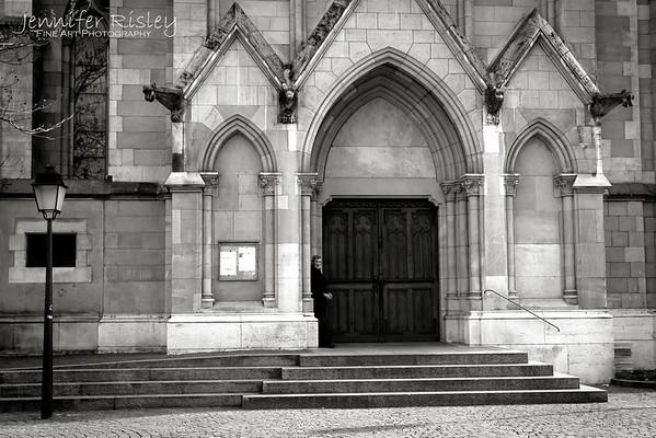 Waiting in the Doorway