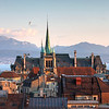 http://www.dreamstime.com/stock-photo-lausanne-switzerland-skyline-as-seen-cathedral-hill-sunset-zoomed-tower-st-francois-church-lake-leman-image39285560