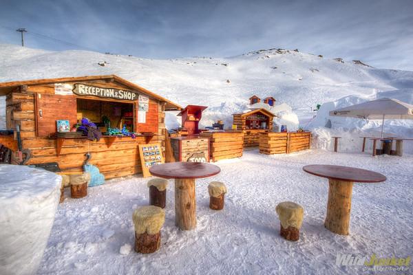 Open Air Bar at Iglu-Dorf Zermatt