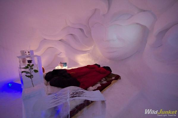Romantic Igloo Suite in Iglu-Dorf Zermatt