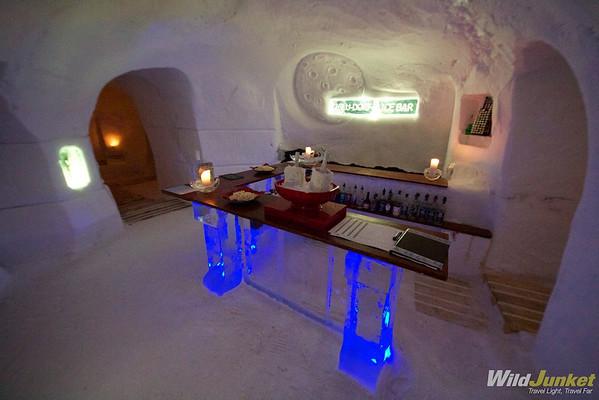 The Ice Bar at Iglu-Dorf Zermatt