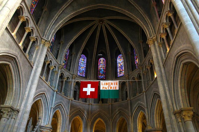 Switzerland, Lake Geneva Region, Lausanne, Cathedrale of Notre Dame