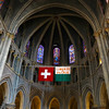 Switzerland, Lake Geneva Region, Lausanne, Cathedrale of Notre Dame