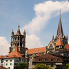 Switzerland, Lake Geneva Region, Lausanne, Cathedral of Notre Dame