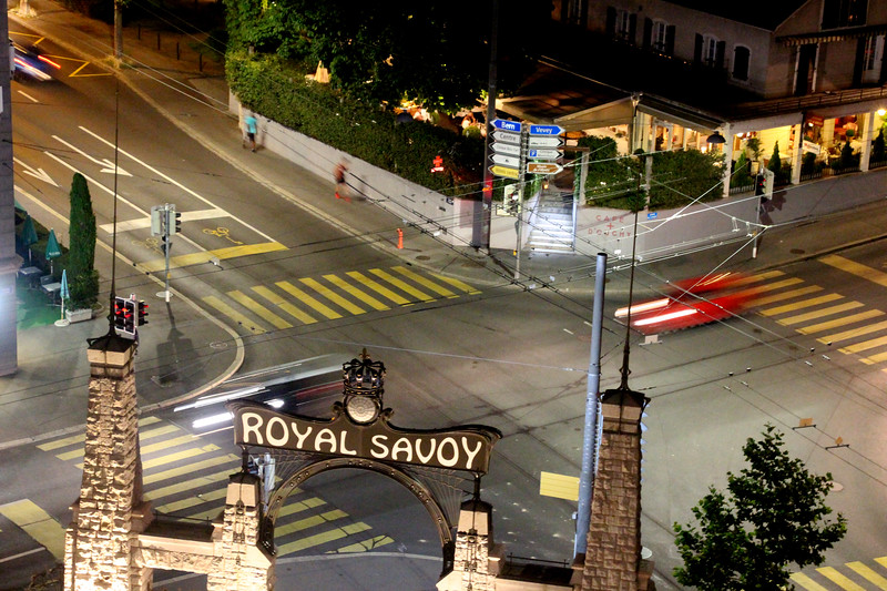 Switzerland, Lake Geneva Region, Lausanne, Royal Savoy Hotel