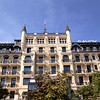 Switzerland, Lake Geneva Region, Lausanne, Royal Savoy Hotel