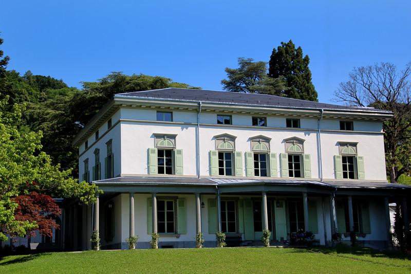 Switzerland, Lake Geneva, Vevey, Chaplin's World