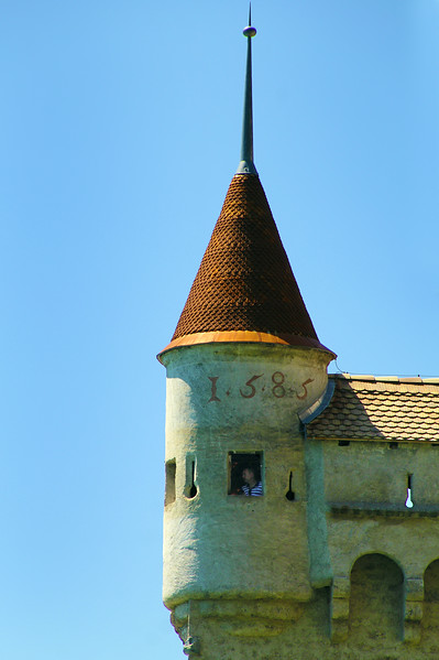 Switzerland; Lake Geneva Region; Chillon Castle, 16th Century Tower