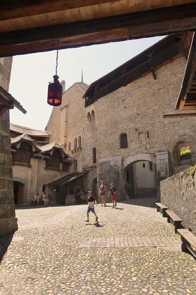 Switzerland, Lake Geneva Region, Chillon Castle
