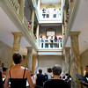 Switzerland, Lake Geneva Region, Vevey, Hotel des Trois Couronnes, Sunday Concert in Lobby