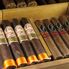 Switzerland; Lake Geneva Region; Vevey,  Hotel des Trois Couronnes, Cigars in Humidor
