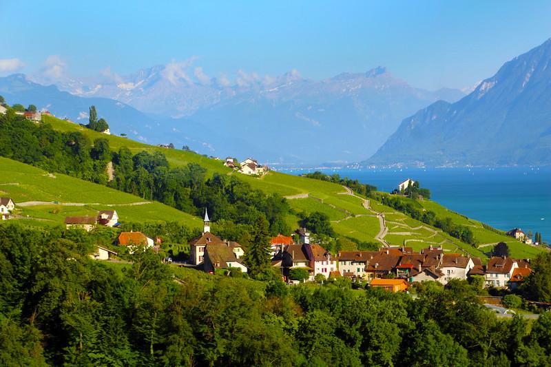 Switzerland, Lake Geneva Region