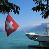 Switzerland, Lake Geneva Region, View on Lake from Vevey