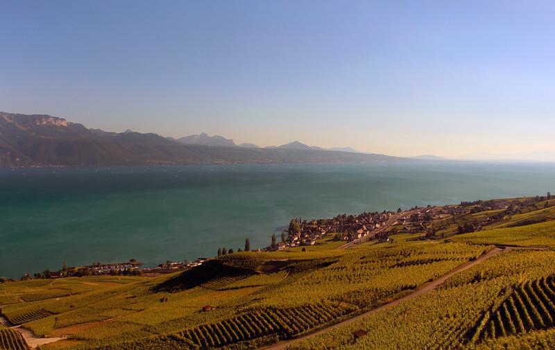 Switzerland, Lake Geneva Region, Lavaux Wine Region