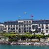 Switzerland, Lake Geneva Region, Vevey, Hotel des Trois Couronnes