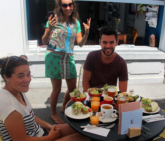 Switzerland, Lake Geneva Region, Vevey, Cafe Litteraire