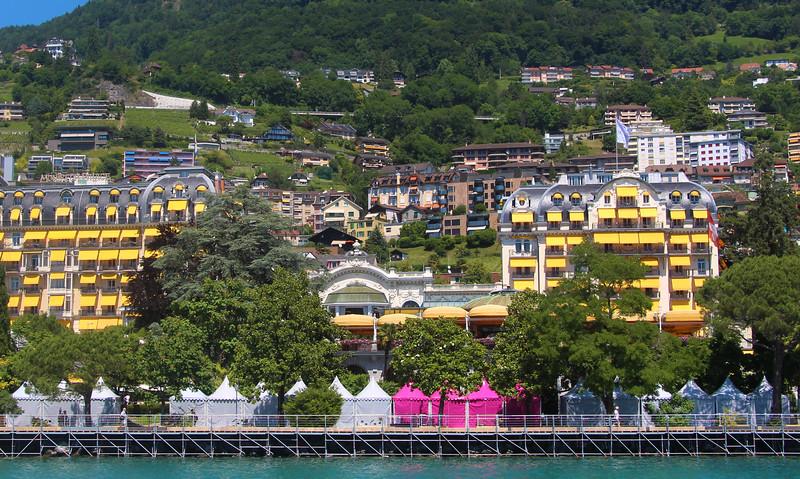 Switzerland, Lake Geneva Region, Fairmont Le Montreaux Palace