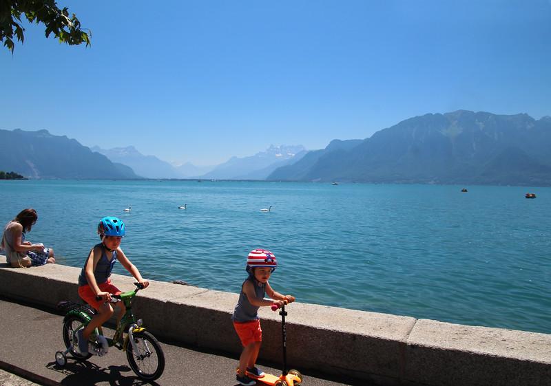 Switzerland, Lake Geneva Region, Vevey