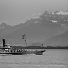 Switzerland, Lake Geneva Region, La Suisse Passenger Ship