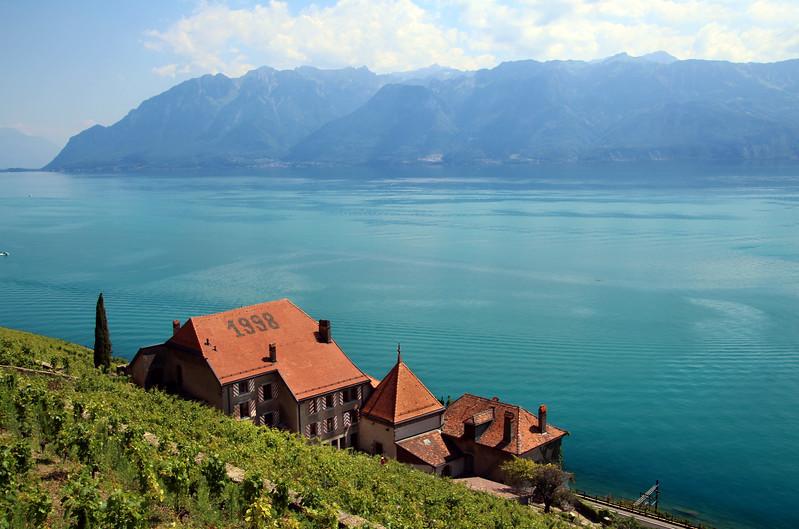 Switzerland, Lake Geneva Region, Lavaux, Clos des Abbayes