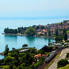 Switzerland, Lake Geneva Region, Cully in the Lavaux Region