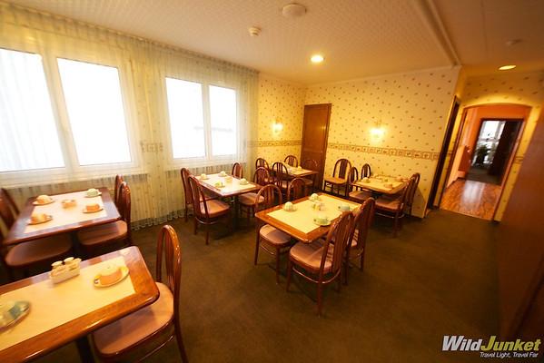 Dinning area at Minotel Crystal Hotel