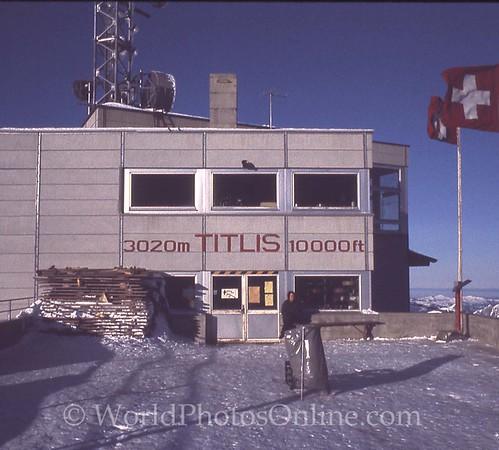 Mt Titlis peak