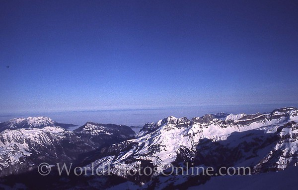 Mt Titlis - View of Alps