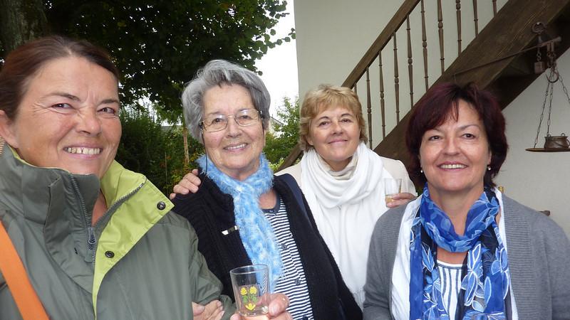Eva, Erika, Brigitte und Barbara Sieber