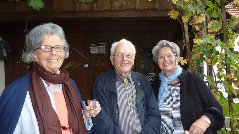 Ruth & Hans Rauber und Erika Sieber