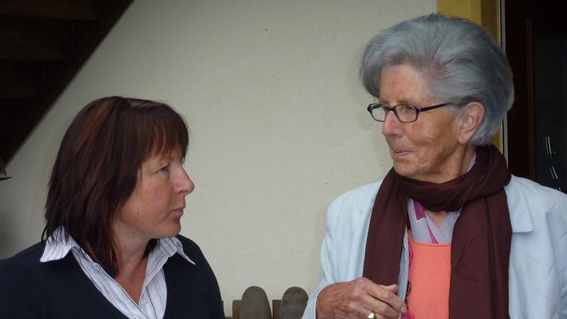 Brigitte Stooss und  Ruth Rauber