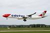 """HB-JMG Airbus A340-313X """"Edelweiss Air"""" c/n 562 Zurich/LSZH/ZRH 08-09-17"""