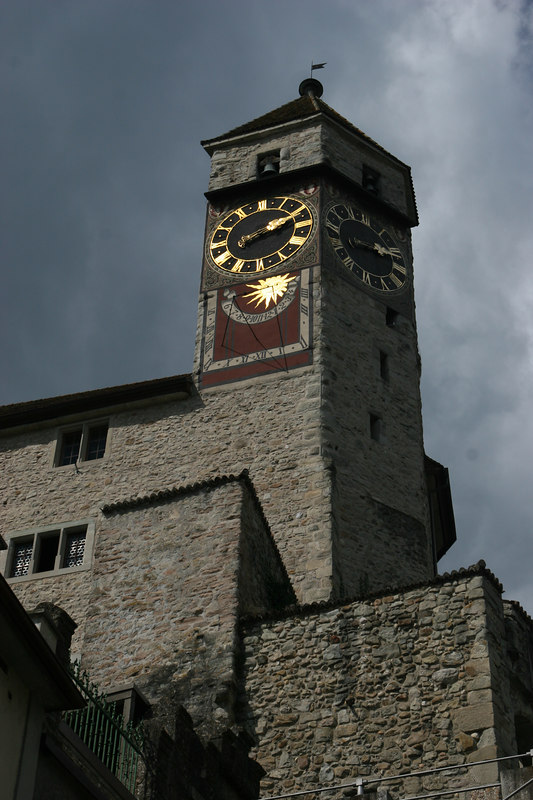 Clock tower, Rapperswil Switzerland