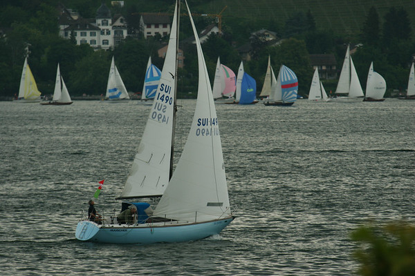 Regatta on Zurichsee