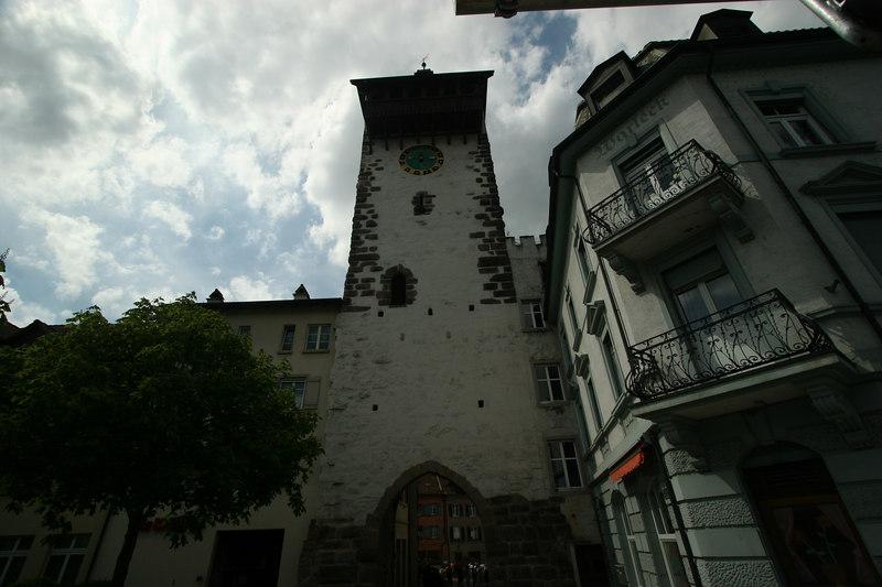 Clock tower, Rheinfelden Switzerland