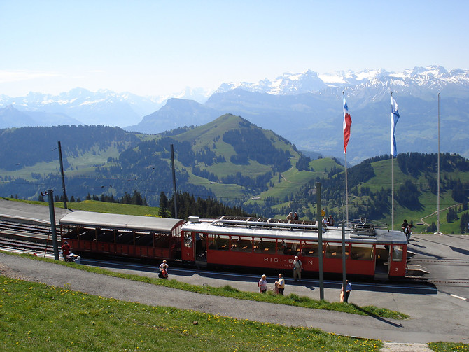 Rigi Kulm Bahnhof
