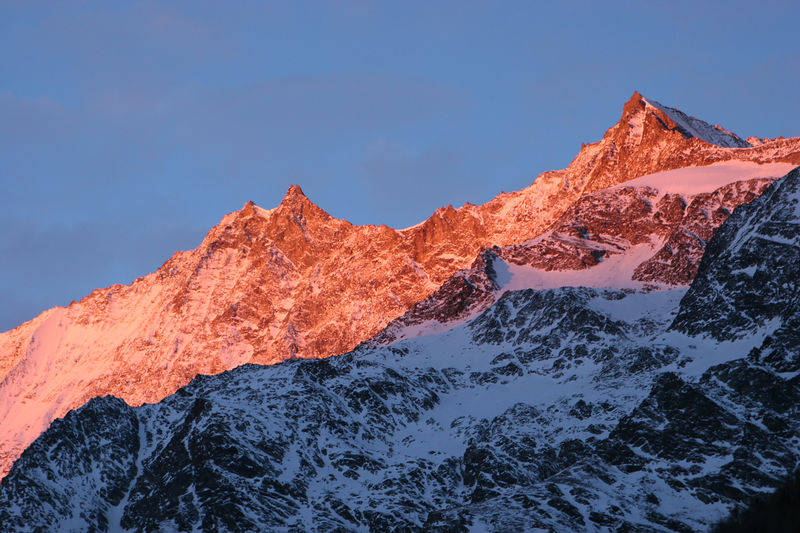 Sunrise, Saas Fee